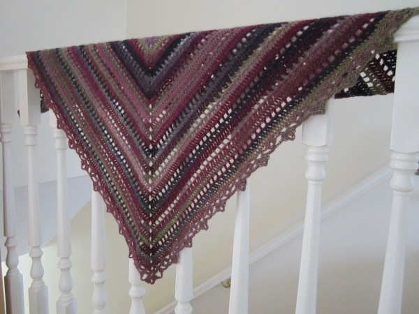 crochet shawl king cole riot funky bramblenerry